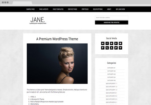 Jane-WordPress-Theme