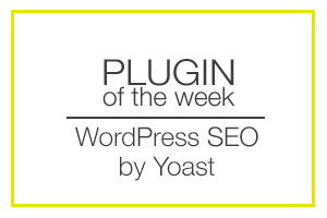 Plugin of the Week yoast